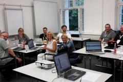 Participants in the idea space workshop